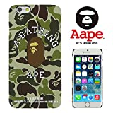 A BATHING APE 【 A BATHING APE 】 iPhone6(4.7inch)対応ケース ベイシングエイプ 迷彩柄 APE003
