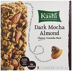 Kashi Chewy Dark Mocha Almond Granola Bar - 1.2 oz - 6 ct