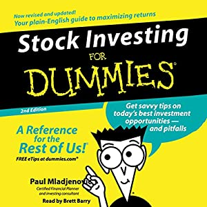 Stock Investing for Dummies, 2nd Edition Audiobook