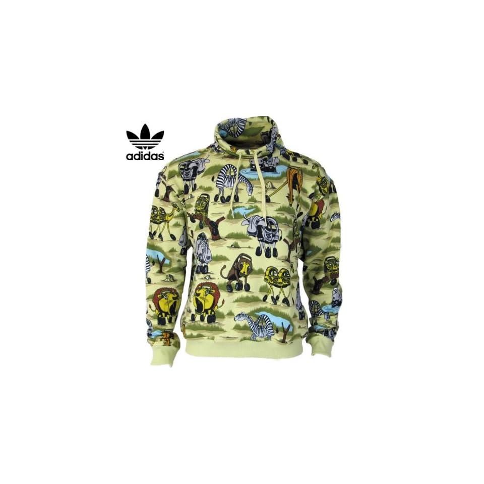 1cc9d1447ec4 Jeremy Scott Adidas Originals Herren Safari Pullover Sport on PopScreen