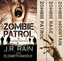 The Walking Plague Trilogy (       UNABRIDGED) by J.R. Rain, Elizabeth Basque Narrated by David Doersch