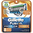 Gillette Fusion Proglide Power Razor Blade Refills for Men, 8 Count