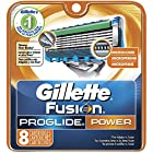 Gillette Fusion Proglide Power Men's Razor Blade Refills 8 Count (Packaging May Vary)