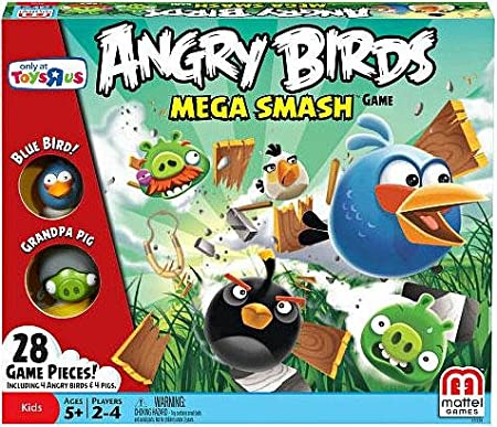 Mattel Angry Birds Smash Exclusive Jeu de société Mega (USA Version)