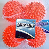 Dryer Balls 4 Pack Orange- Reusable D...