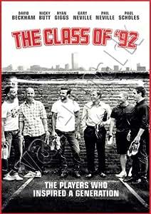 The Class Of '92 Man Utd Legends Poster A1 A2 A3 Wall Art