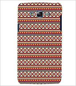 PrintDhaba Tribal Pattern D-5423 Back Case Cover for SAMSUNG GALAXY ON 5 (Multi-Coloured)