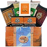 Smoked Salmon Seafood Gourmet Food Gift Box Great Gift Basket for Dad!