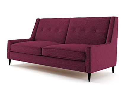 Ives 3 Sitzer Sofa lila, Couch , Jugendsofa, couchgarnituren, lounge möbel