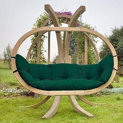 Amazonas Sofa Bola Sillón Colgante Globo Royal Chair Verde Resistente a la intemperie
