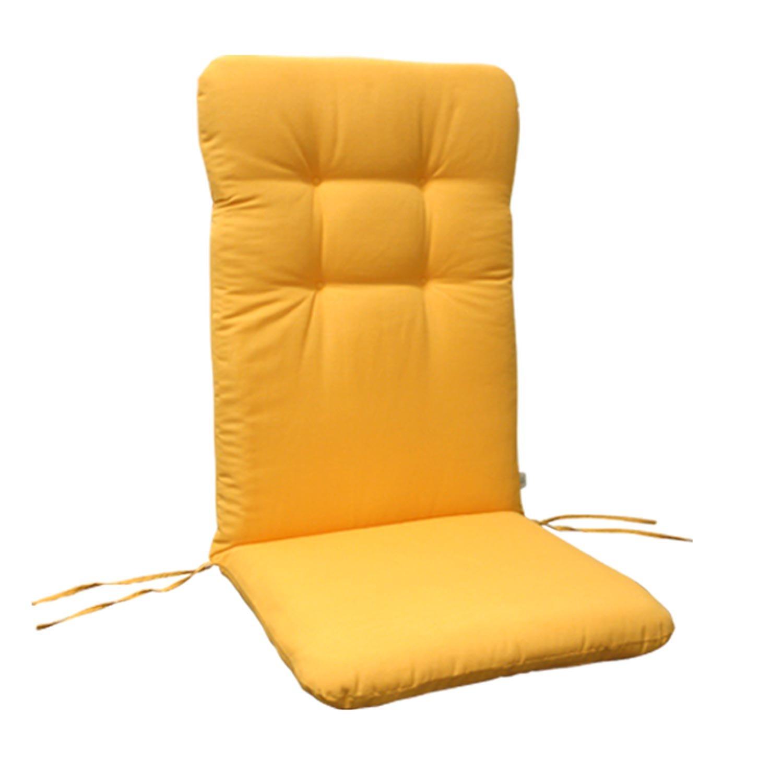 indoba® IND-70402-AUHL – Serie Relax – Gartenstuhl Auflage – Hochlehner, Gelb online kaufen