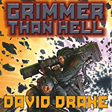 Grimmer Than Hell (       UNABRIDGED) by David Drake Narrated by Bronson Pinchot