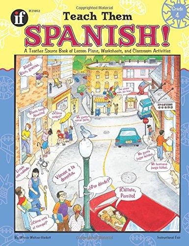 Teach Them Spanish! Grade 4 PDF