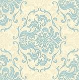 Debona Wallpaper Chelsea Duck Egg 6210