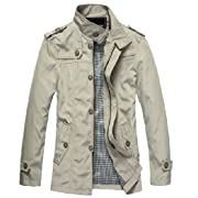 Mr. WantDo Spring Fashion Jacket Lightweight Waterproof