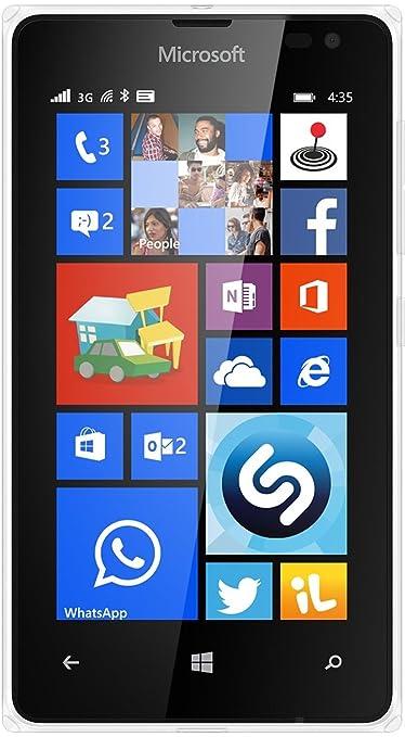 Microsoft 435 Smartphone débloqué (Ecran: 4 pouces) Blanc (import Italie)