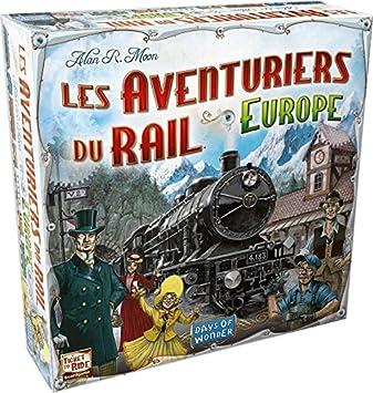 Asmodee - AVE02 - Jeu de Stratégie - Les Aventuriers du Rail Europe