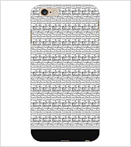 PrintDhaba Typography D-1816 Back Case Cover for APPLE IPHONE 6S (Multi-Coloured)