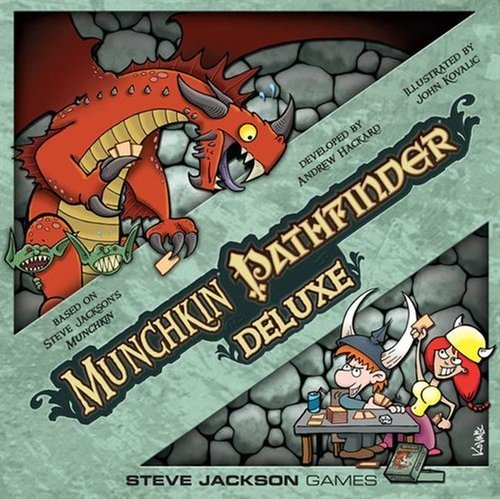 Munchkin Pathfinder Deluxe (Munchkin Quest compare prices)