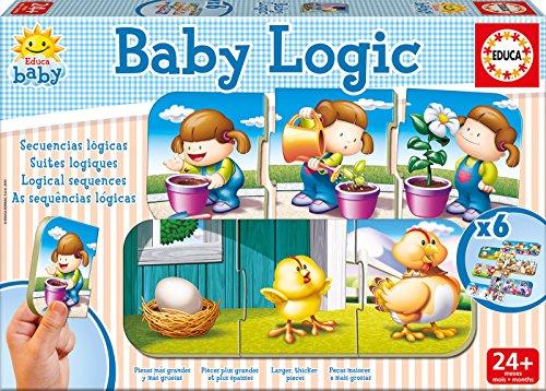 Educa Juegos - Baby Logic, juego de mesa (15860)