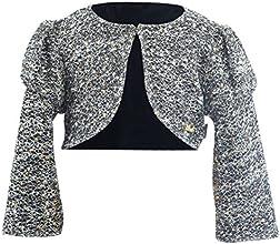 Lilax Little Girls39 Shimmer Sequin Bolero Jacket Shrug