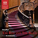 The Red and the Black Audiobook by  Stendhal Narrated by Bill Homewood