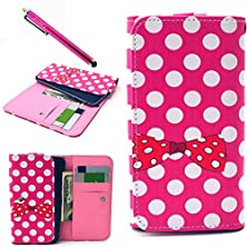buy S6 Edge Case, S6 Edge Wallet Leather [Card Slots] Case, S6 Edge Purse Case,Jcmax Superior Flip Folio Pu Leather Wallet Case Protective Cover For Samsung Galaxy S6 Edge
