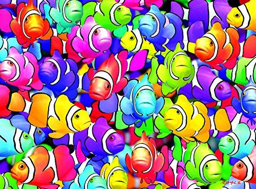 Buffalo Games Vivid Collection: Clown School - 1000 Piece Jigsaw Puzzle by Buffalo Games