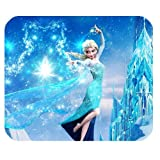 Hot Cartoon Frozen Design Cloth Cover Rectangle Mouse pad Mousepad061