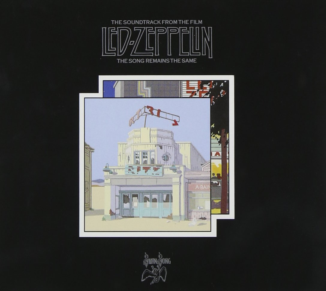 led zeppelin, the song remains the same, okładka