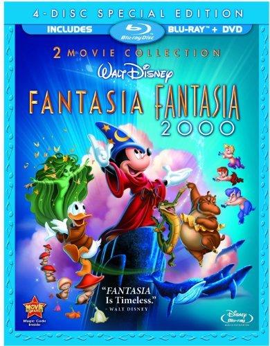 Pack Fantasia + Fantasia 2000 [Blu-ray]