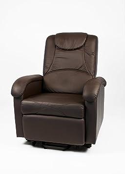 Poltrona relax alzapersona e massaggio - Testa di moro