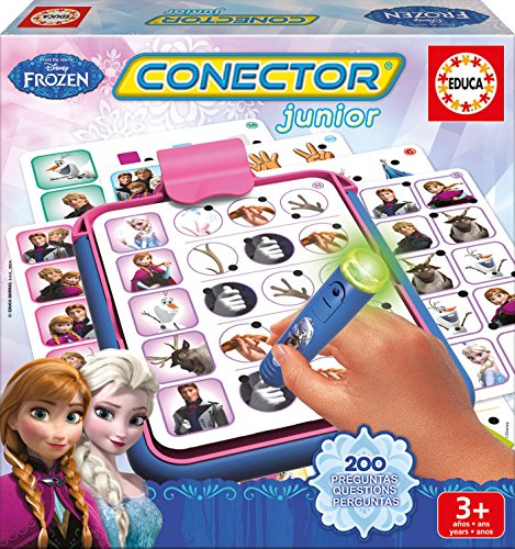 Frozen - Conector Junior, juego educativo (Educa Borrás 16256)