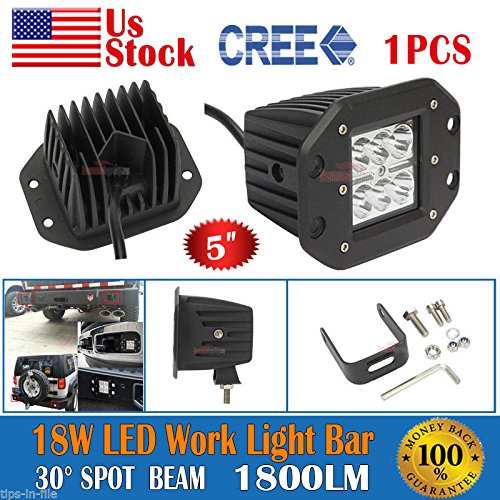 5inch-18W-CREE-LED-Spot-Work-Light-Bar-Fog-Driving-Lamp-Offroad-Truck-4WD-SUV-You-get-only-LED-Spot
