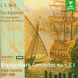 Brandenburg Concerti 1-3 / Triple Concerto