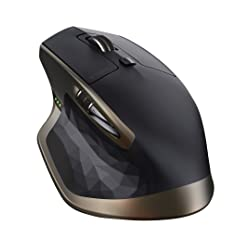 Logitech MX Master Wireless Mouse for Windows and Mac - Black
