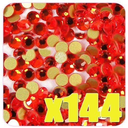 [BF] SS10 Orange-Red Crystals CODE: #BF2_ORANGE-RED#10