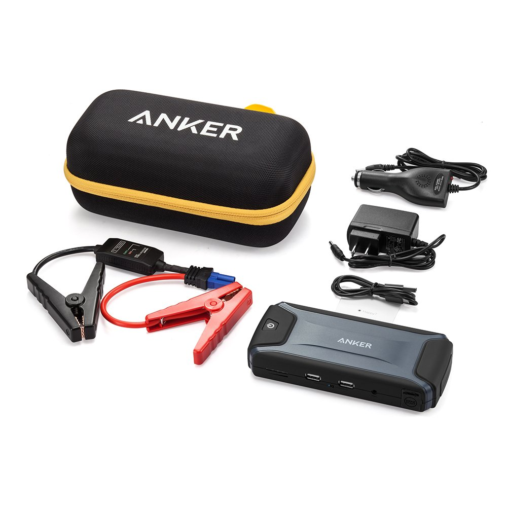 anker compact car jump starter and portable charger power bank new ebay. Black Bedroom Furniture Sets. Home Design Ideas