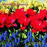 World of Flowers Calendar - 2015 Wall calendars - Garden Calendars - Flower Calendar - Monthly Wall Calendar by Magnum