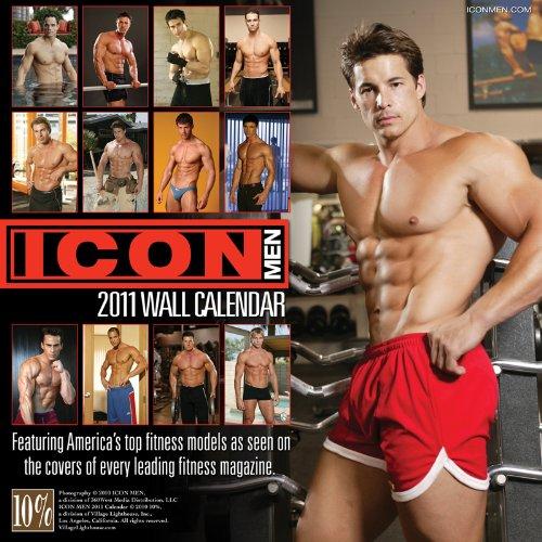 Icon Men 2011 Calendar (Village Lighthouse Inc)