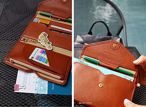 Review Zoppen Multi Purpose Passport Wallet Ver 4 Organizer Travel Wallet Expert