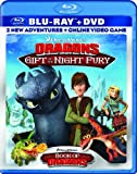Image de DreamWorks Dragons: Gift of the Night Fury / Book of Dragons Double Pack (Two-Disc Blu-ray/DVD Combo + Online Video Game)
