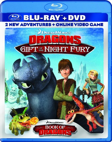 DreamWorks Animated DreamWorks Dragons: Gift of the Night Fury / Book of Dragons Double Pack (Two-Disc Blu-ray/DVD Combo + Online Video Game) at Sears.com