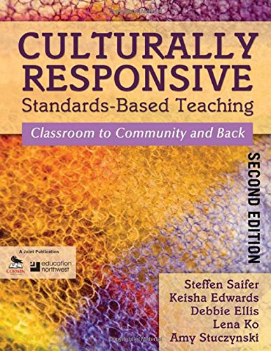 Culturally Responsive Standards-Based Teaching: Classroom To Community And Back front-1045551