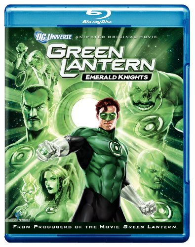Cover art for  Green Lantern: Emerald Knights [Blu-ray]