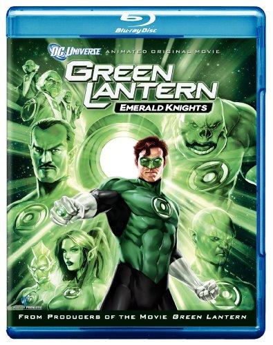 Cover art for  Green Lantern: Emerald Knights [Blu-ray]