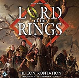 The Lord of The Rings Confrontation Board Game