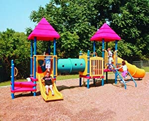 Kidstuff Playsystems 5004 Ages 2-5 Playsystem