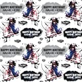 Call of Duty PERSONALISED Birthday Gift Wrap Paper plus 2 Tags- Use the 'Send as a gift' option to send us your personalisation name