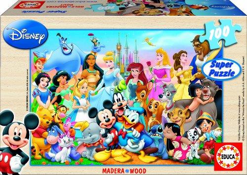 Educa 13691 il meraviglioso mondo di disney puzzle in for Mondo selvaggio di cabine disney